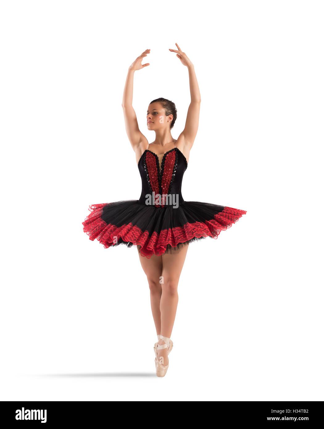 Classical dancer pose - Stock Image