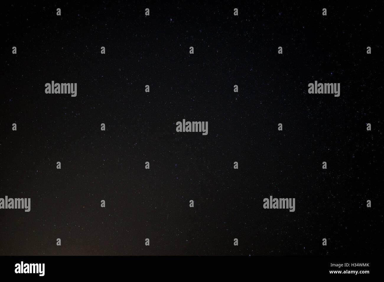 NIght sky with stars - Stock Image