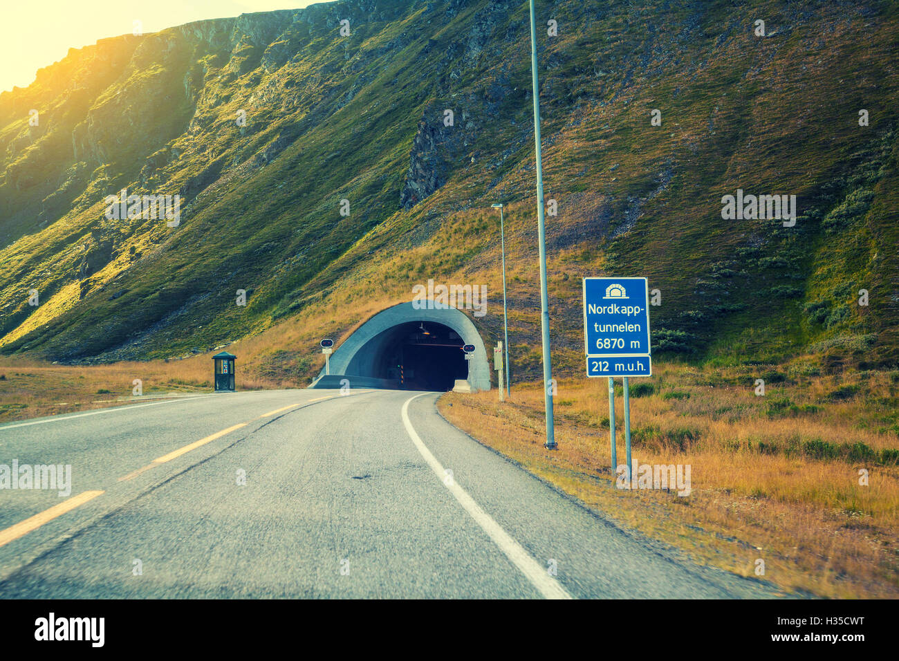 Underwater Road Tunnel Stock Photos & Underwater Road Tunnel Stock