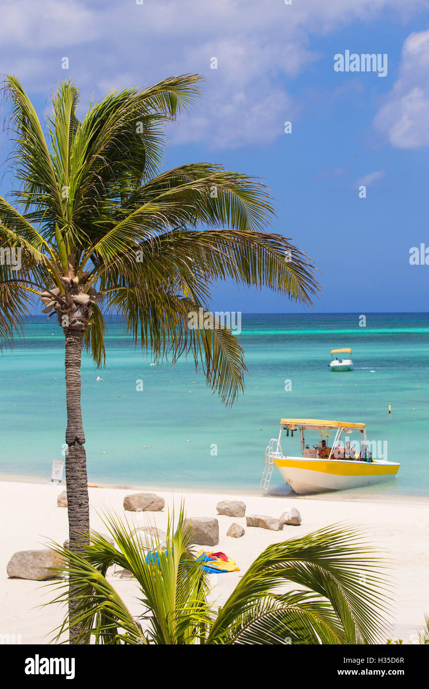 Palm Beach, Aruba, Netherlands Antilles, Caribbean - Stock Image