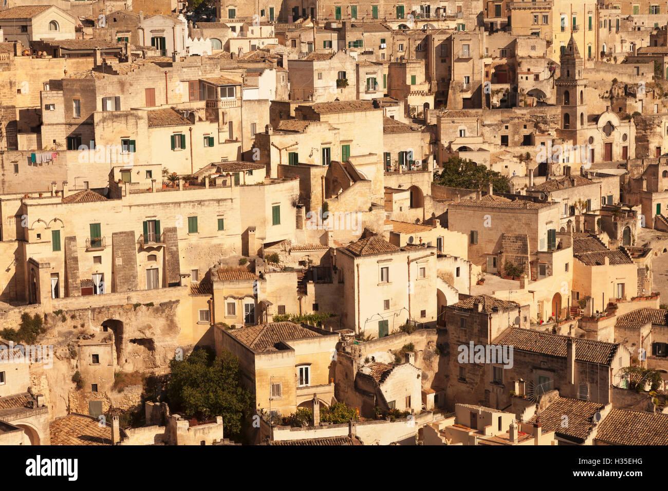 Matera Basilicata Puglia Italy Stock Photos & Matera ...