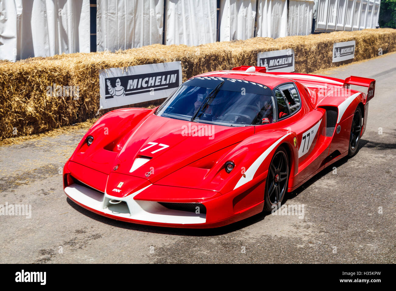 2007 Ferrari Fxx Evo At The 2016 Goodwood Festival Of Speed Sussex Stock Photo Alamy
