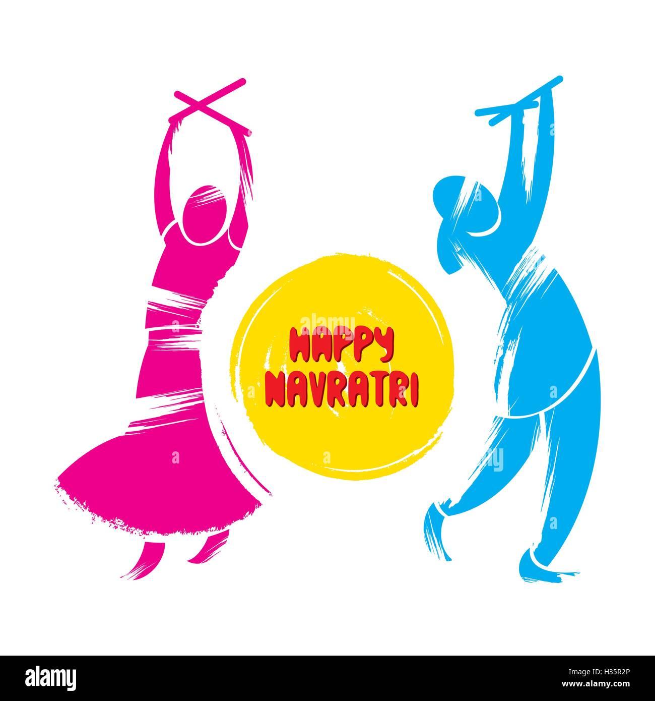Happy Navratri Stock Photos Happy Navratri Stock Images Alamy