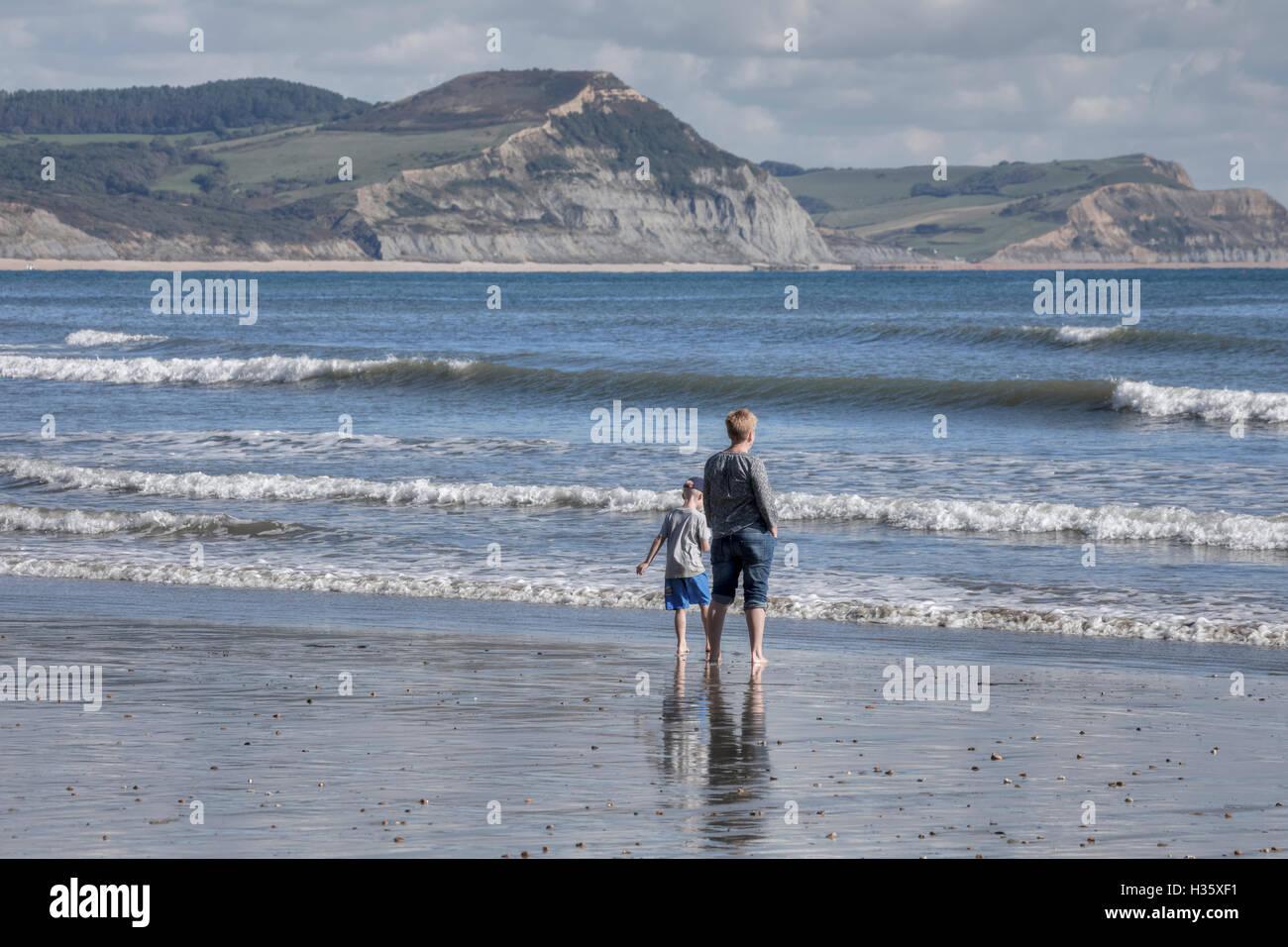 Lyme Regis, Jurassic Coast, Dorset, England, UK - Stock Image