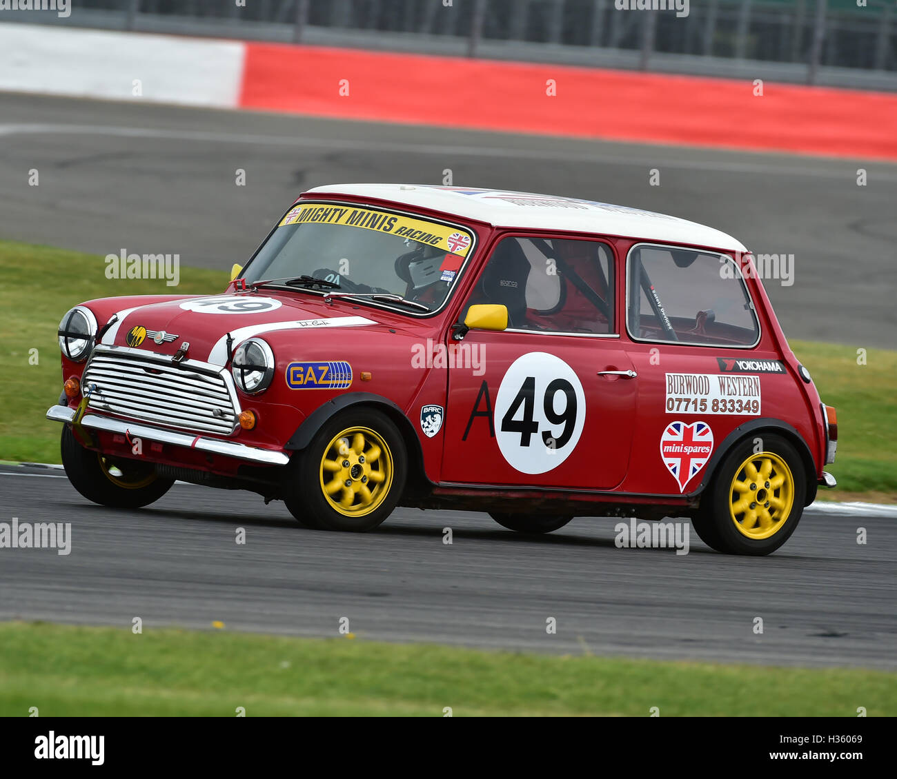 Peter Vemply-Burwood, Mighty Mini, 1275, Mighty Mini Championship, Saturday, Silverstone, Silverstone truck festival, - Stock Image