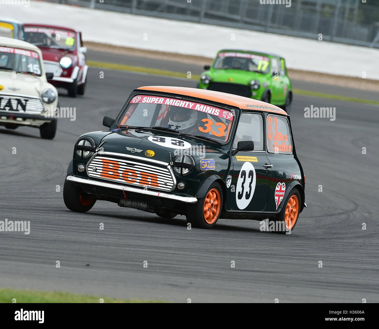 Ben Butler, Super Mighty Mini, 1293, Mighty Mini Championship, Saturday, Silverstone, Silverstone truck festival, - Stock Image