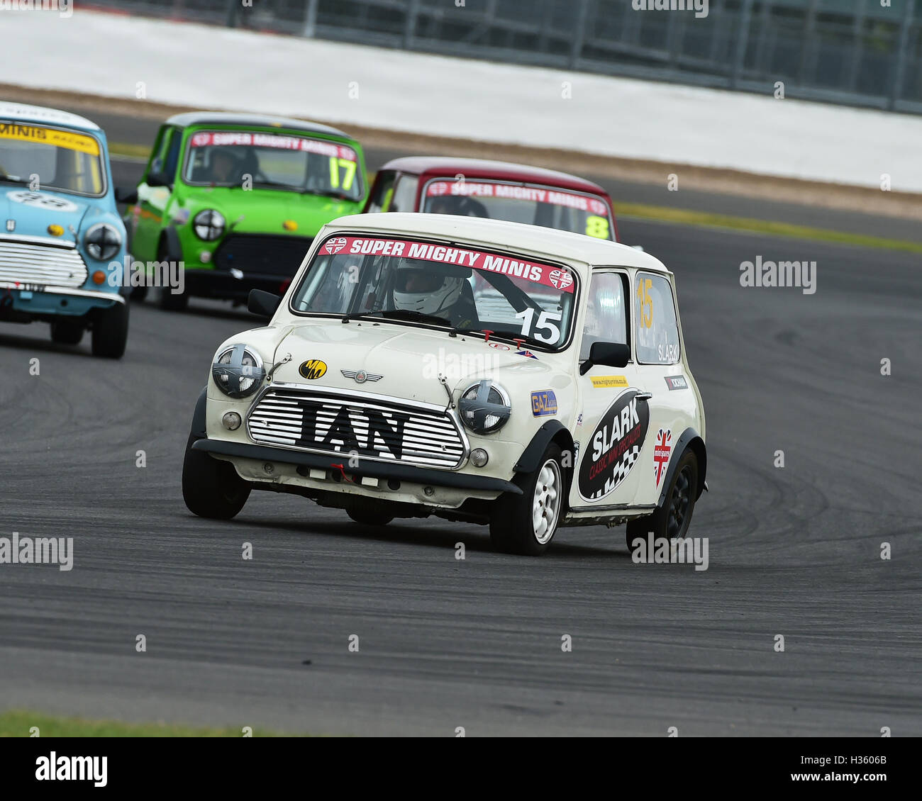 Ian Slark, Super Mighty Mini, 1293, Mighty Mini Championship, Saturday, Silverstone, Silverstone truck festival, - Stock Image