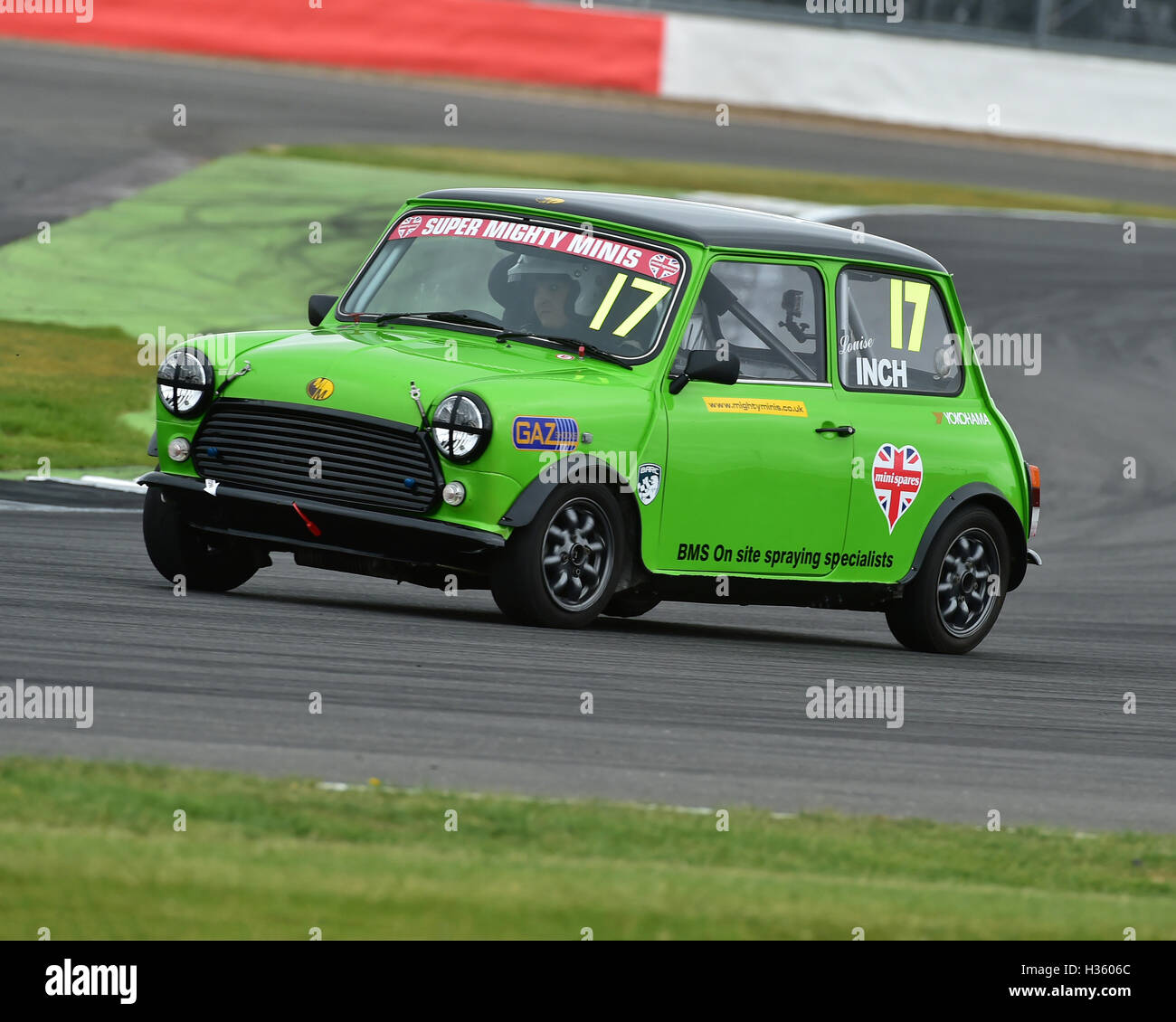 Louise Inch, Super Mighty Mini, 1293, Mighty Mini Championship, Saturday, Silverstone, Silverstone truck festival, - Stock Image