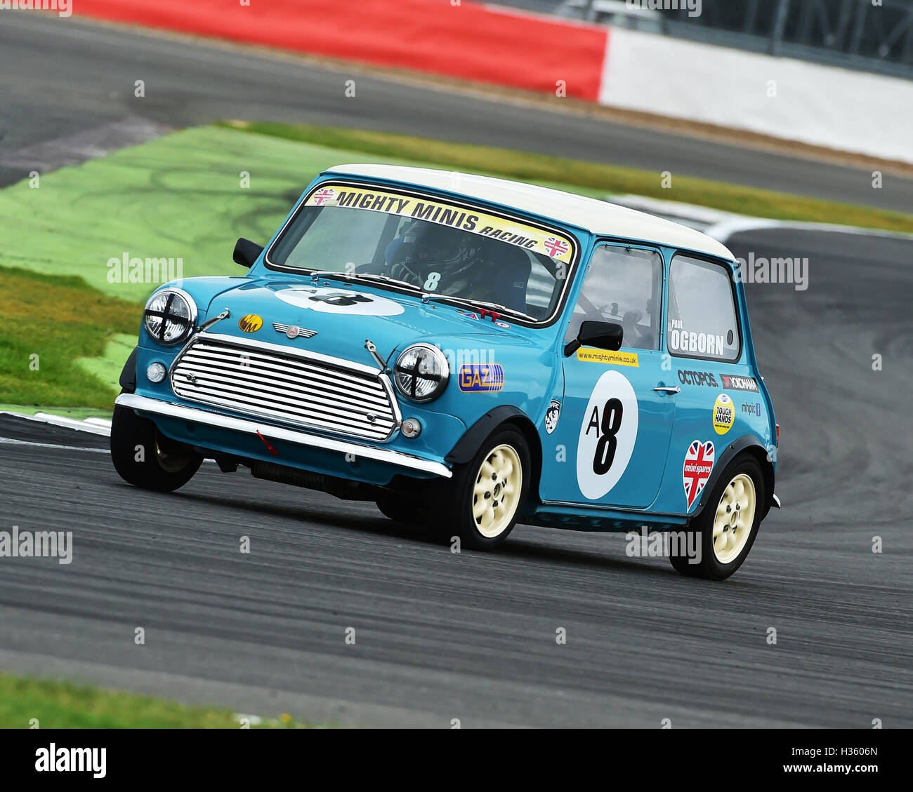 Paul Ogborn, Mighty Mini, 1275, Mighty Mini Championship, Saturday, Silverstone, Silverstone truck festival, Saturday, - Stock Image