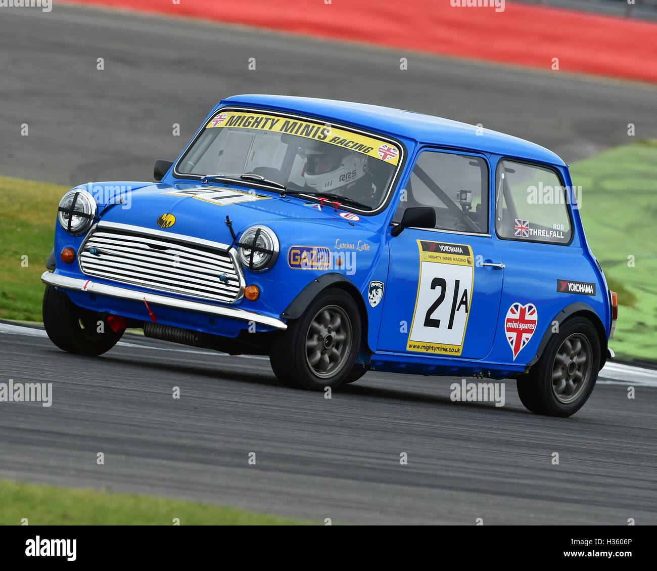 Rob Threlfall, Mighty Mini, 1275, Mighty Mini Championship, Saturday, Silverstone, Silverstone truck festival, Saturday, - Stock Image