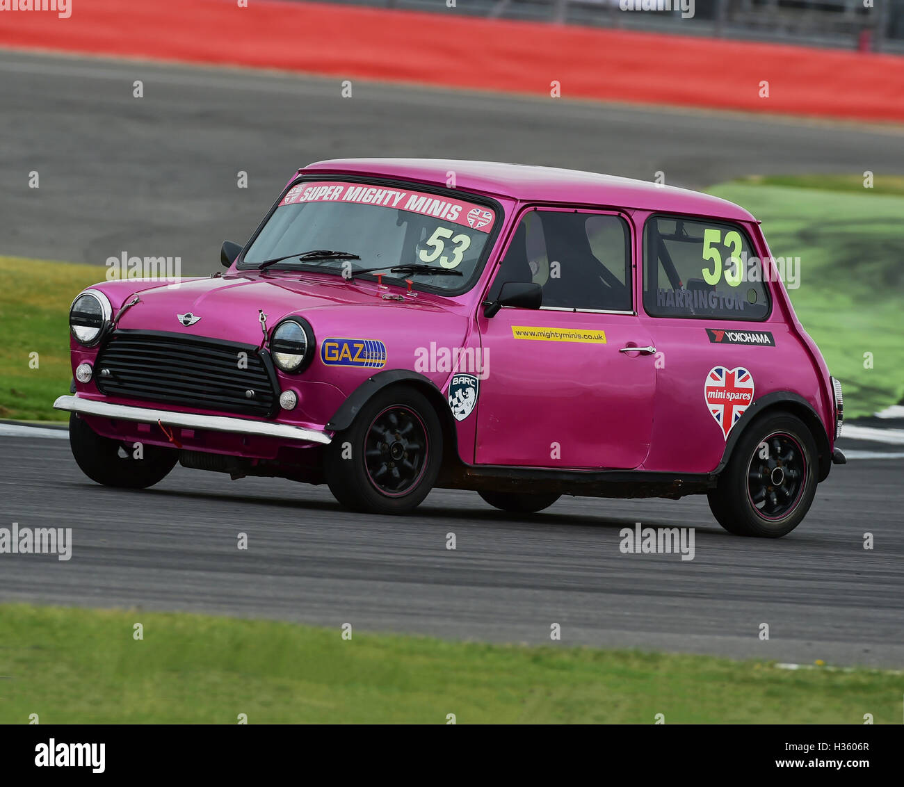 Damien Harrington, Super Mighty Mini, 1293, Mighty Mini Championship, Saturday, Silverstone, Silverstone truck festival, - Stock Image