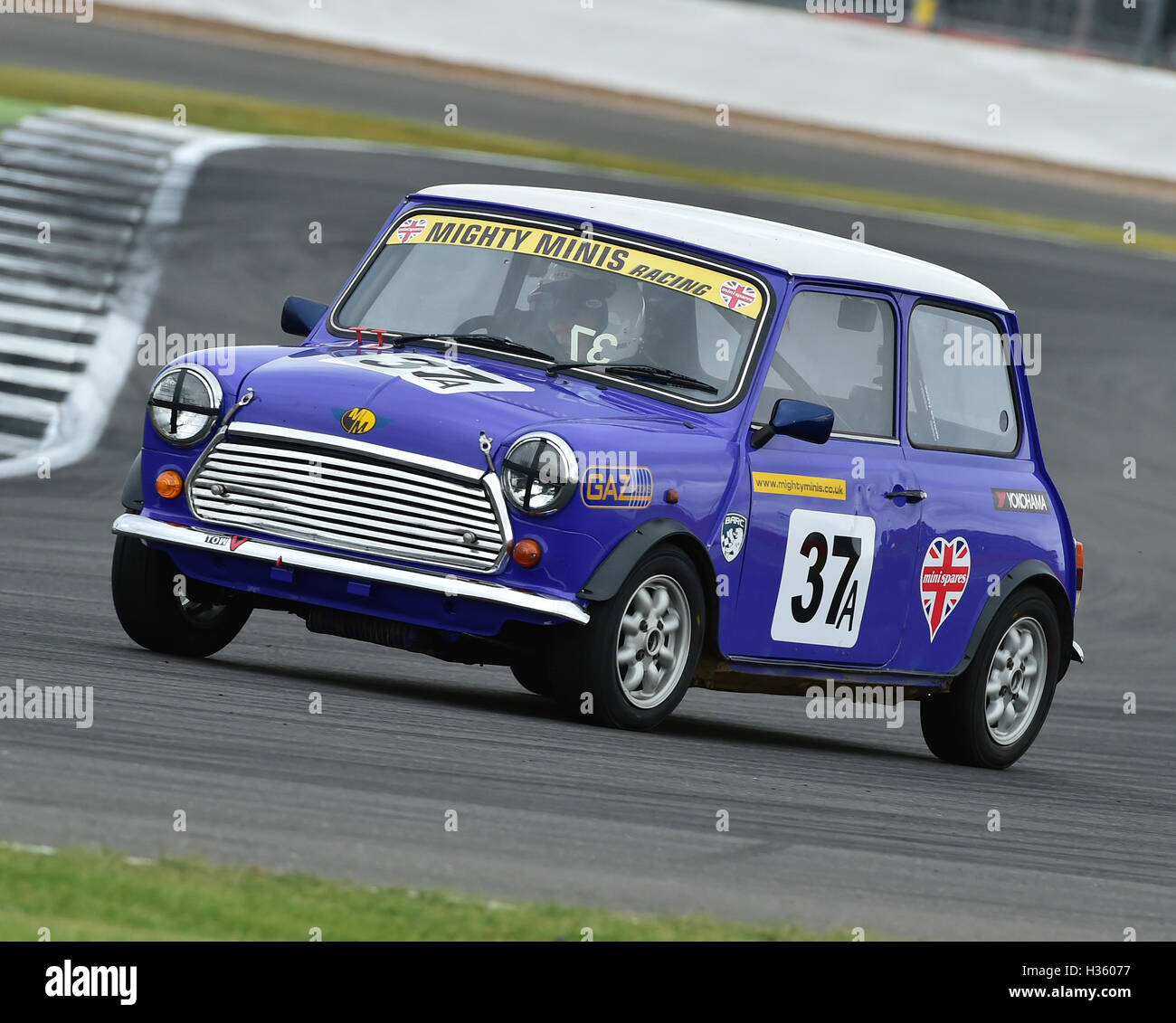 Jim Carolan, Mighty Mini, 1275, Mighty Mini Championship, Saturday, Silverstone, Silverstone truck festival, Saturday, - Stock Image