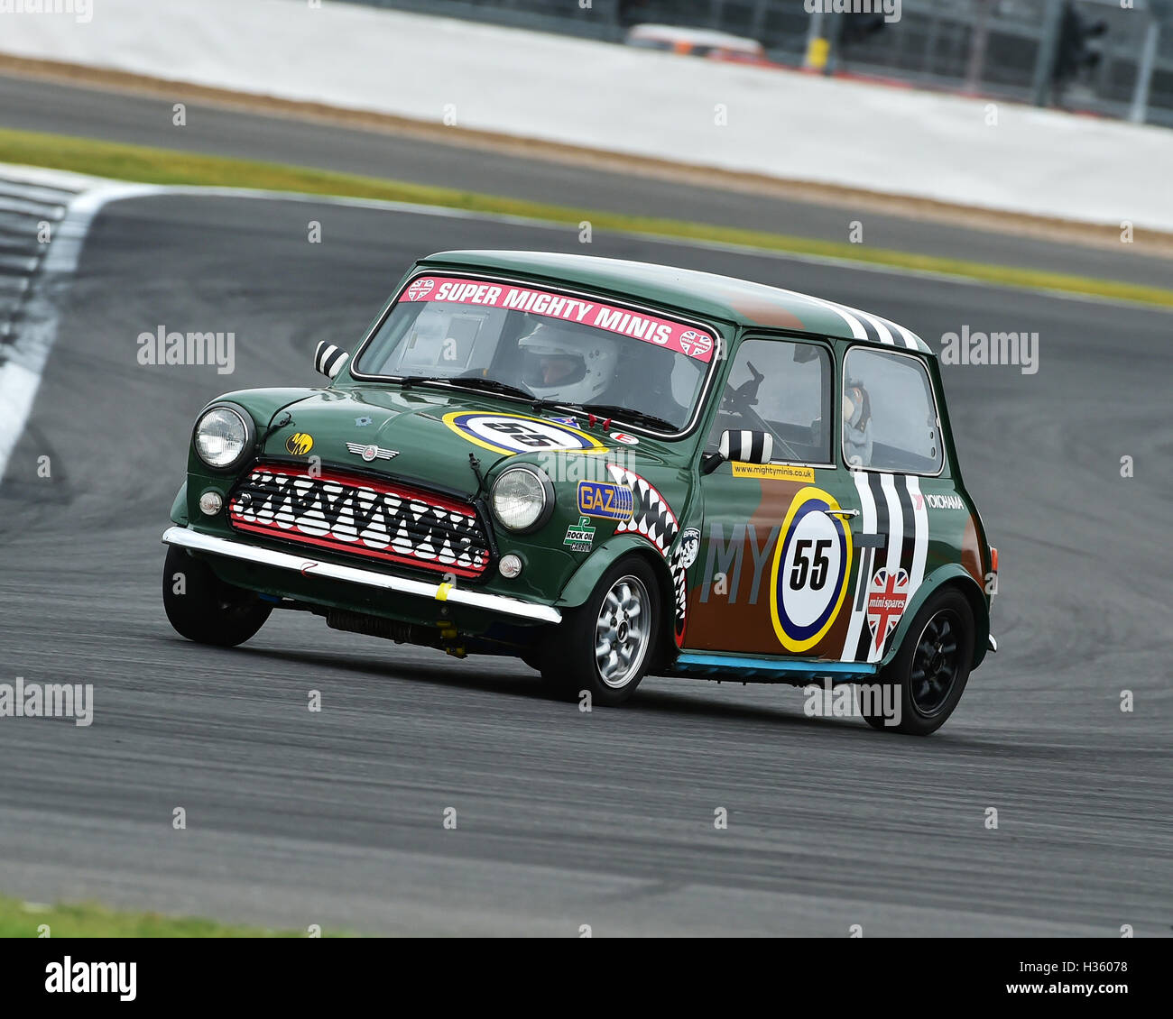 Adrian Tuckley, Super Mighty Mini, 1293, Mighty Mini Championship, Saturday, Silverstone, Silverstone truck festival, - Stock Image