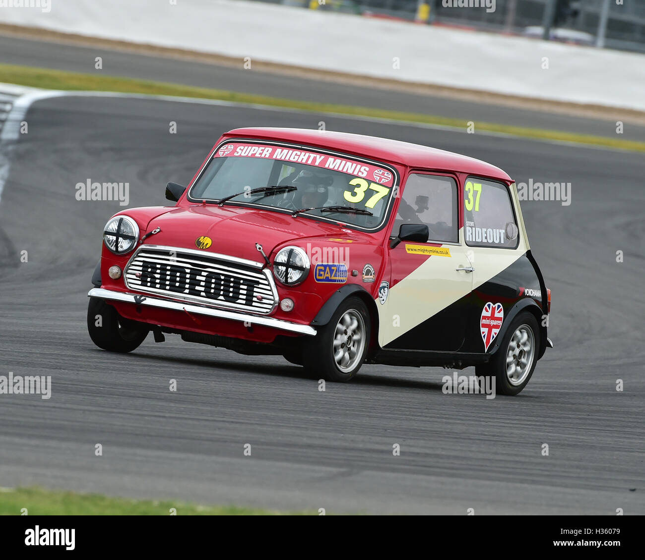Steven Rideout, Super Mighty Mini, 1293, Mighty Mini Championship, Saturday, Silverstone, Silverstone truck festival, - Stock Image