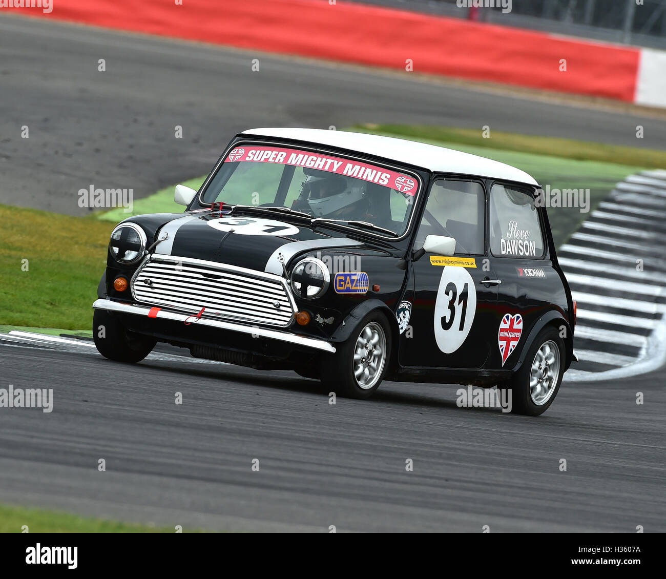Steven Dawson, Super Mighty Mini, 1293, Mighty Mini Championship, Saturday, Silverstone, Silverstone truck festival, - Stock Image