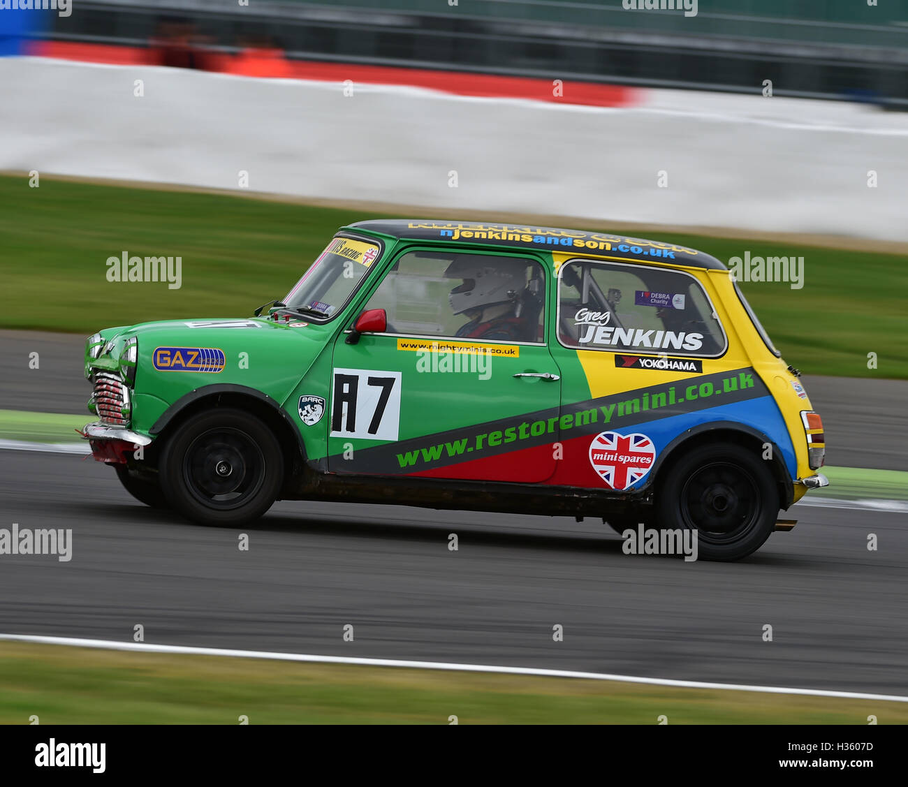 Greg Jenkins, Mighty Mini, 1275, Mighty Mini Championship, Silverstone truck festival, Silverstone, Saturday, August - Stock Image