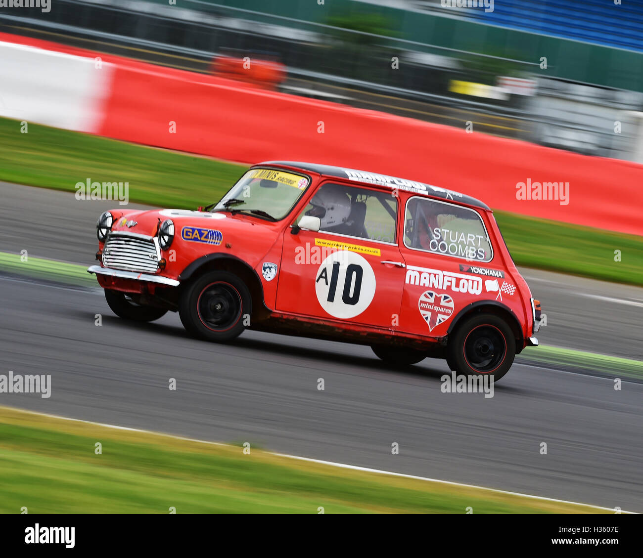 Stuart Coombes, Mighty Mini, 1275, Mighty Mini Championship, Saturday, Silverstone, Silverstone truck festival, - Stock Image