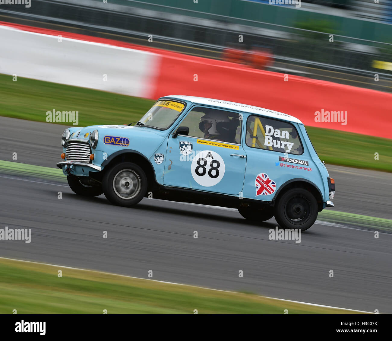 Dan Bury, Mighty Mini, 1275, Mighty Mini Championship, Saturday, Silverstone, Silverstone truck festival, Saturday, - Stock Image