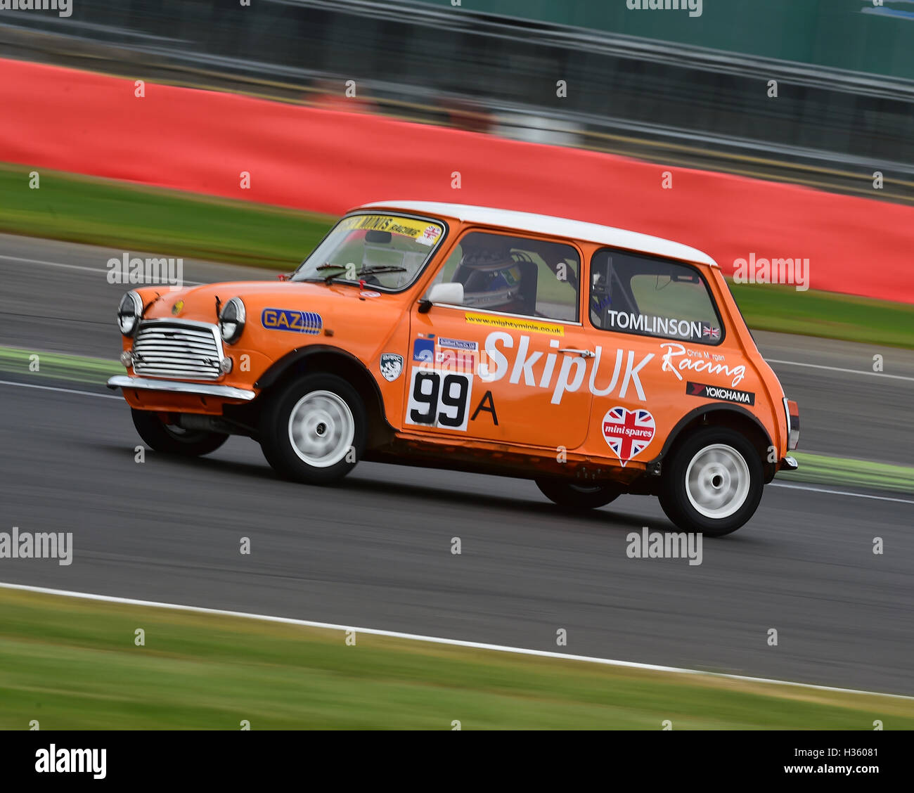 Sam Tomlinson, Mighty Mini, 1275, Mighty Mini Championship, Saturday, Silverstone, Silverstone truck festival, Saturday, - Stock Image