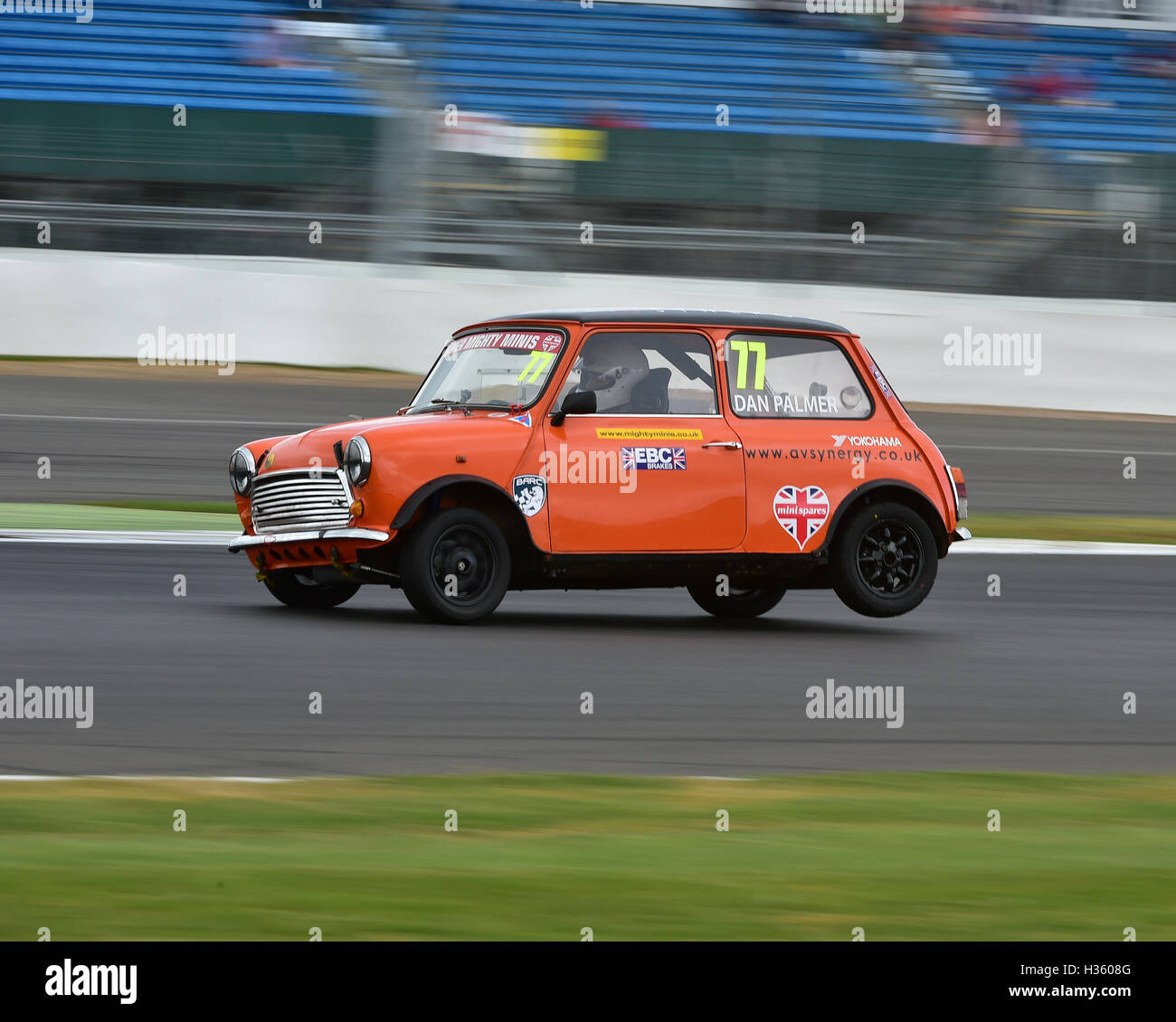 Dan Palmer, Super Mighty Mini, Mighty Mini Championship, Silverstone truck festival, Silverstone, Saturday, August - Stock Image