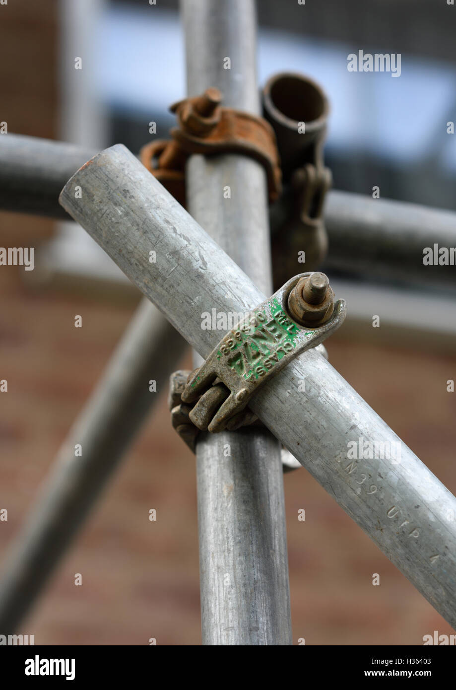 Tube And Coupler Scaffold Stock Photos Amp Tube And Coupler