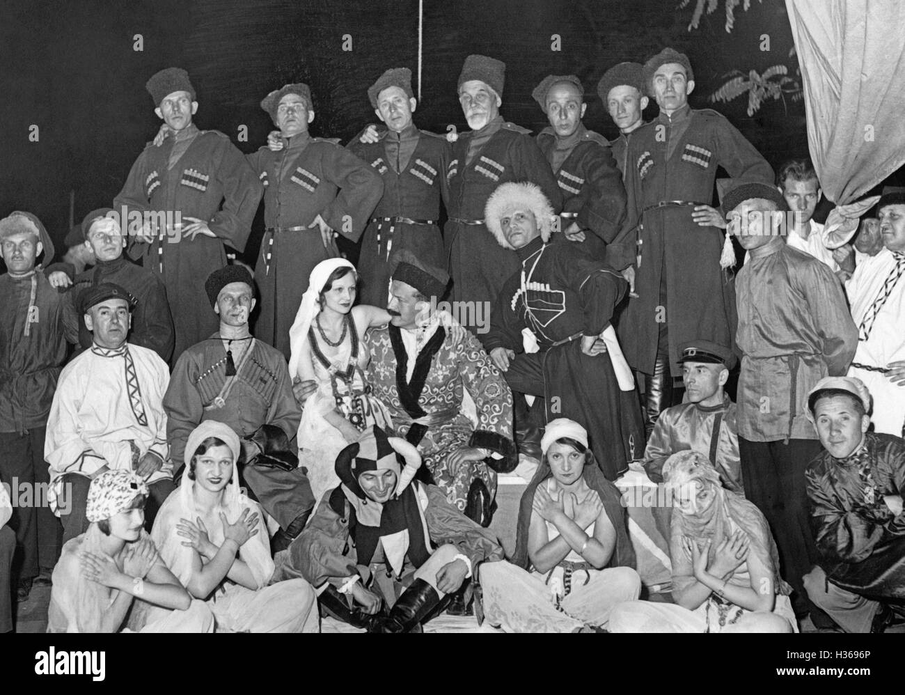 Russian National Socialists in Berlin, 1933 - Stock Image