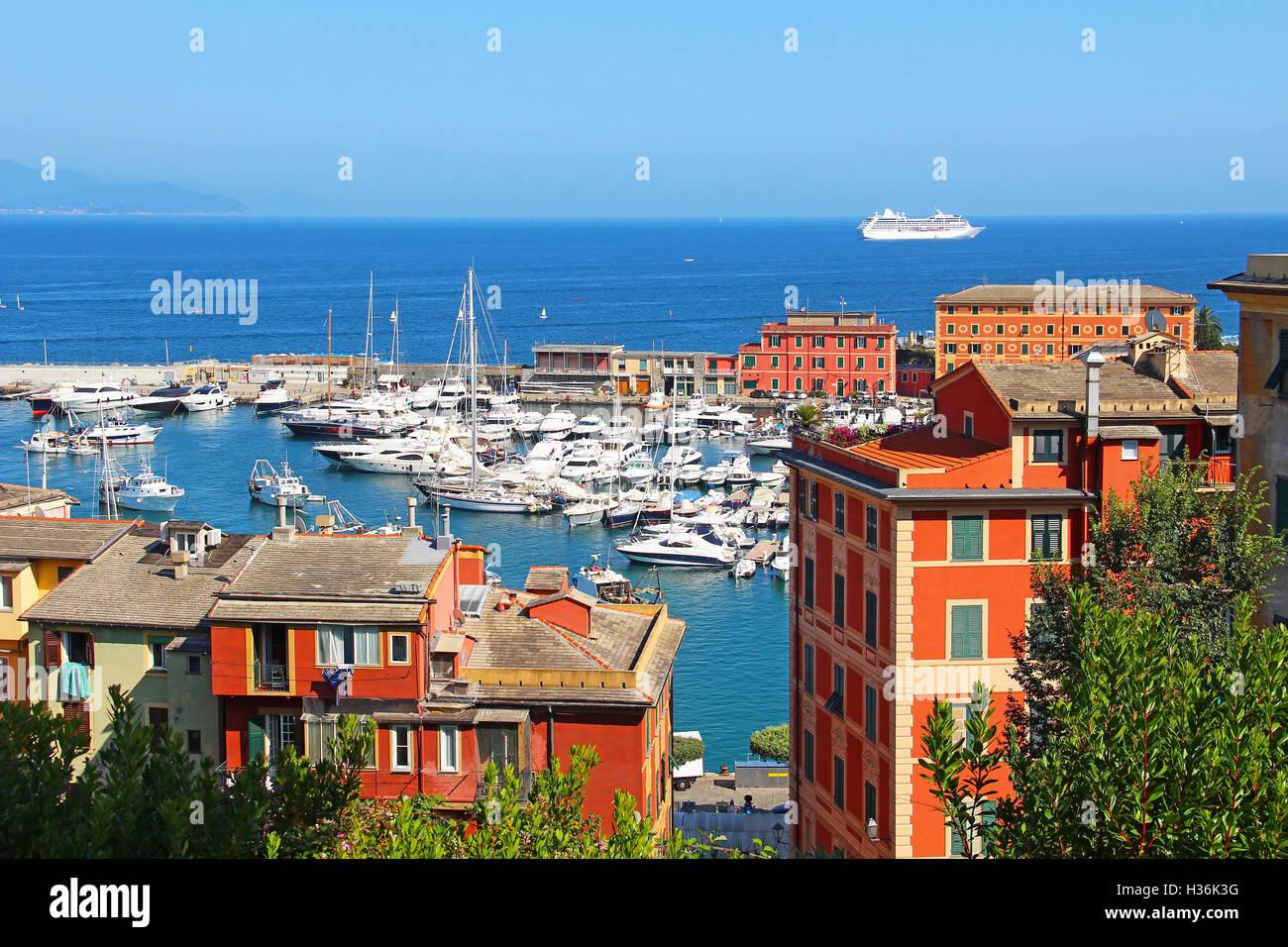 Santa Margherita Ligure, Genoa, Italy Stock Photo
