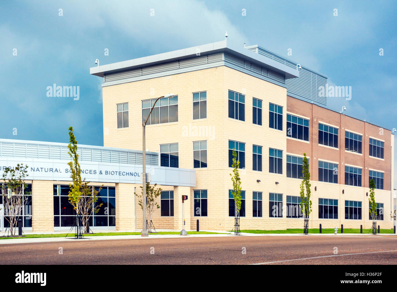The Nursing, Natural Sciences and Biotechnology Building, Memphis, TN - Stock Image