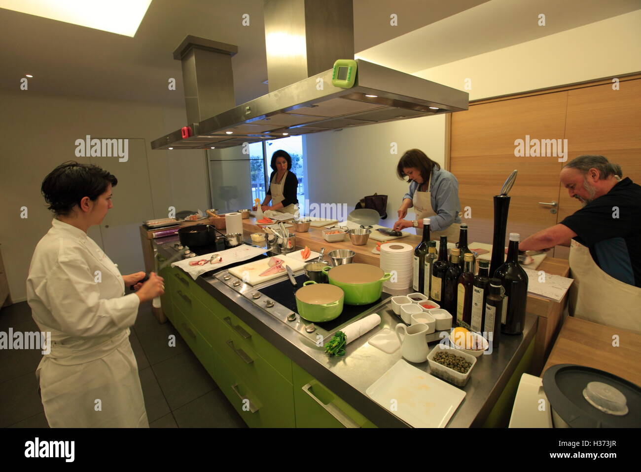 A Cooking Class In Ecole De Cuisine Alain Ducasse Alain Ducasse