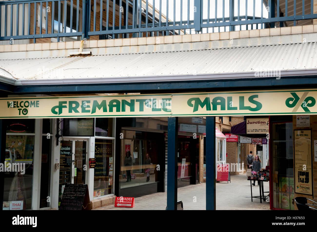 Fremantle Malls - Australia - Stock Image