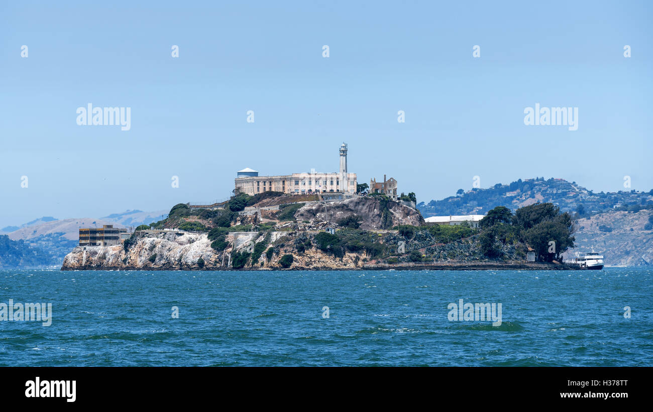 Alcatraz Island, San Francisco, California, United States of America, North America - Stock Image