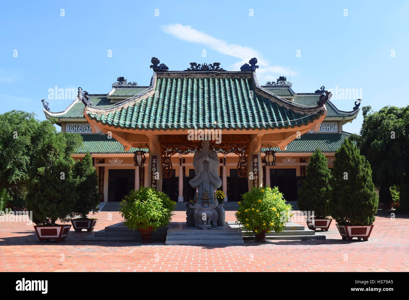 The Memorial of Literature Tran Bien temple in Dong Nai, vietnam - Stock Image
