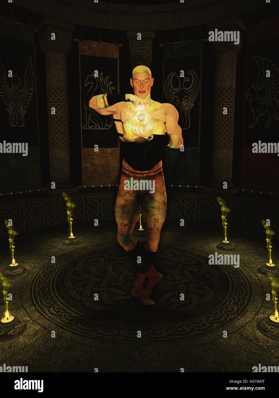 Alchemy Man - Stock Image