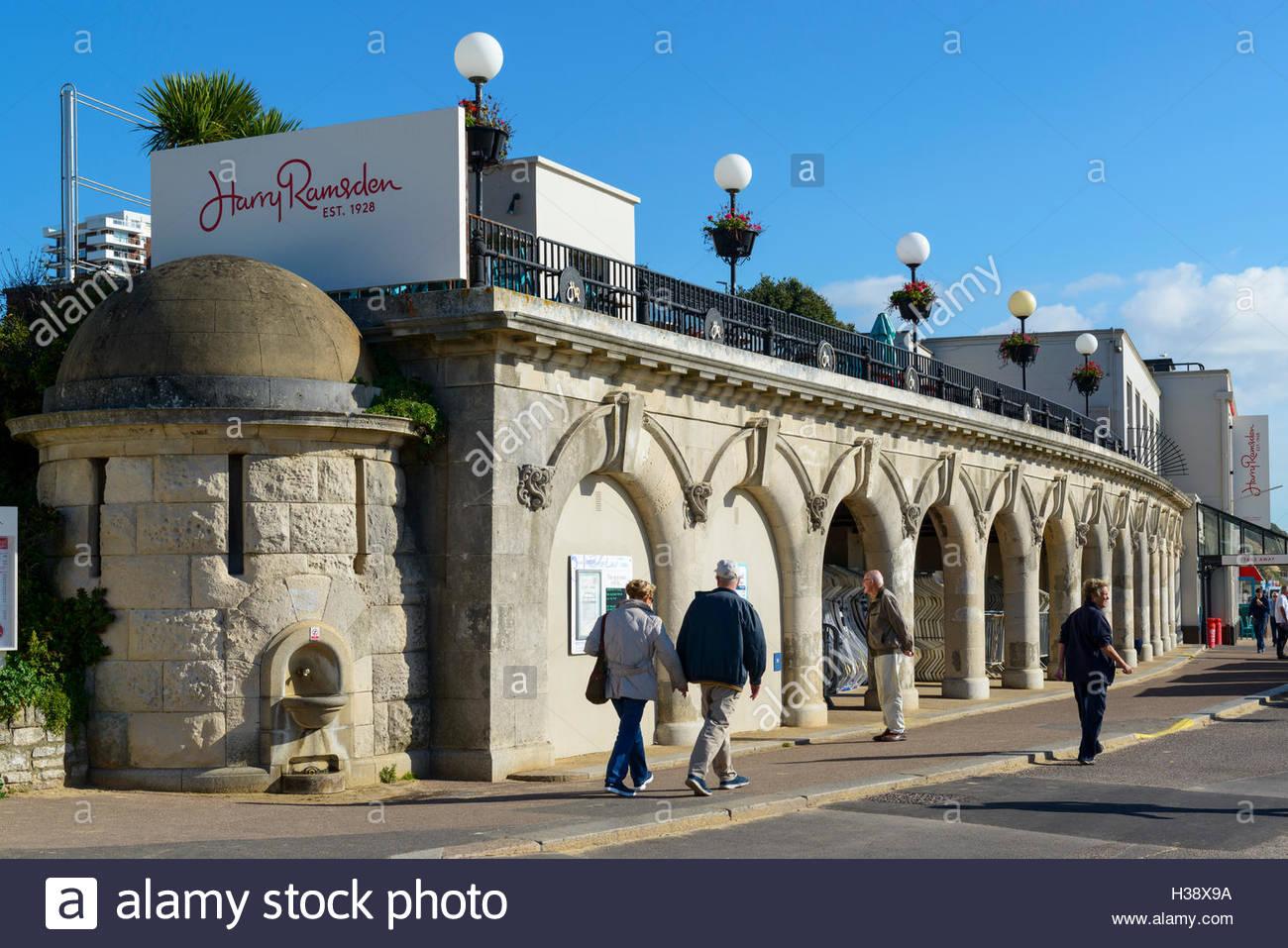 Harry Ramsden restaurant, Bournemouth, Dorset, England, UK Stock Photo