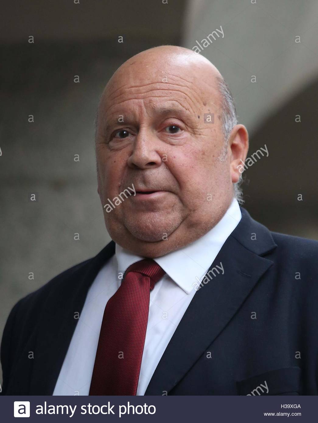 File photo dated 21/09/16 of retired driver Alan Smith who along with Fake Sheikh Mazher Mahmood have been found - Stock Image