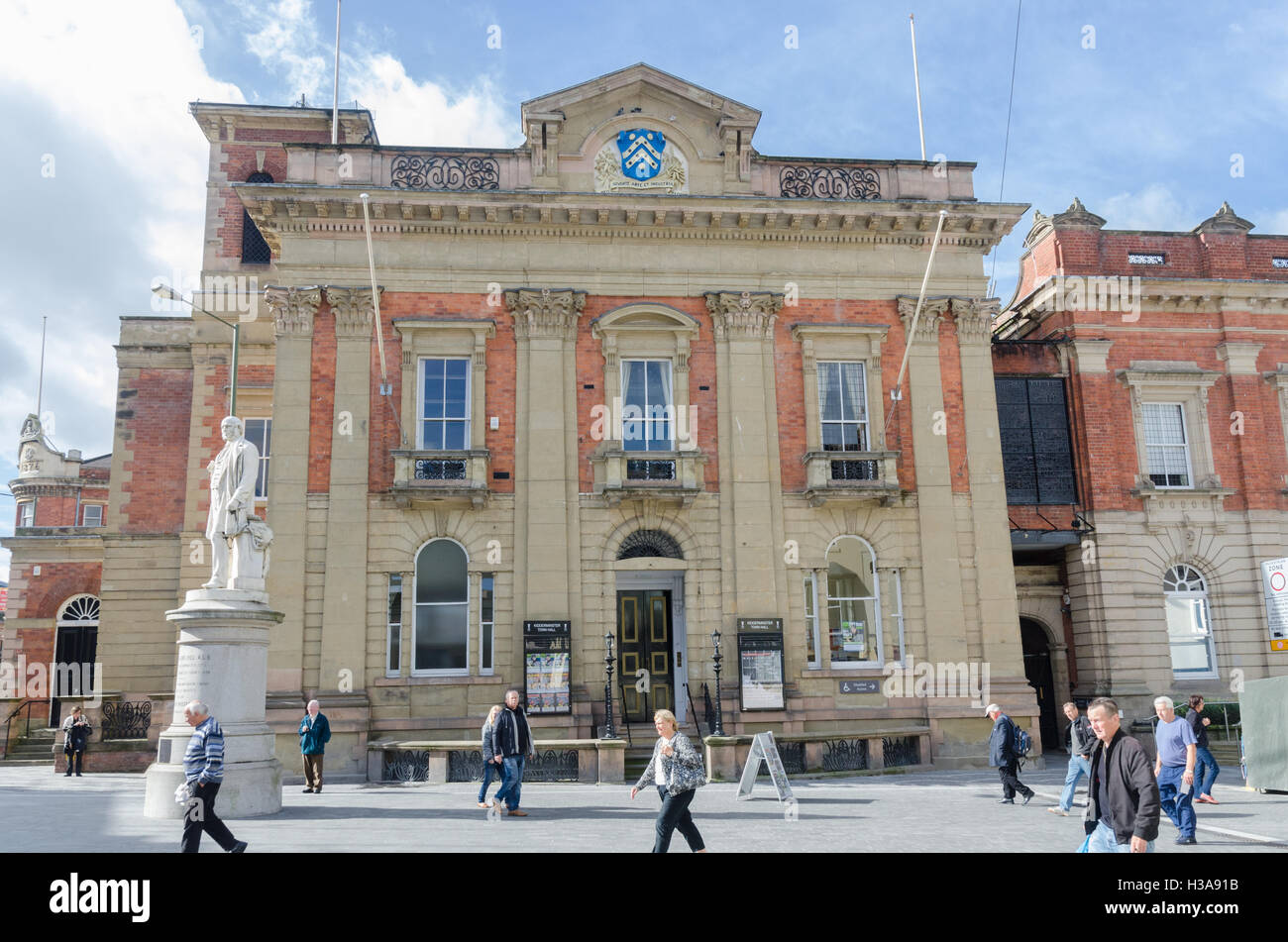 Kidderminster Town Hall - Stock Image