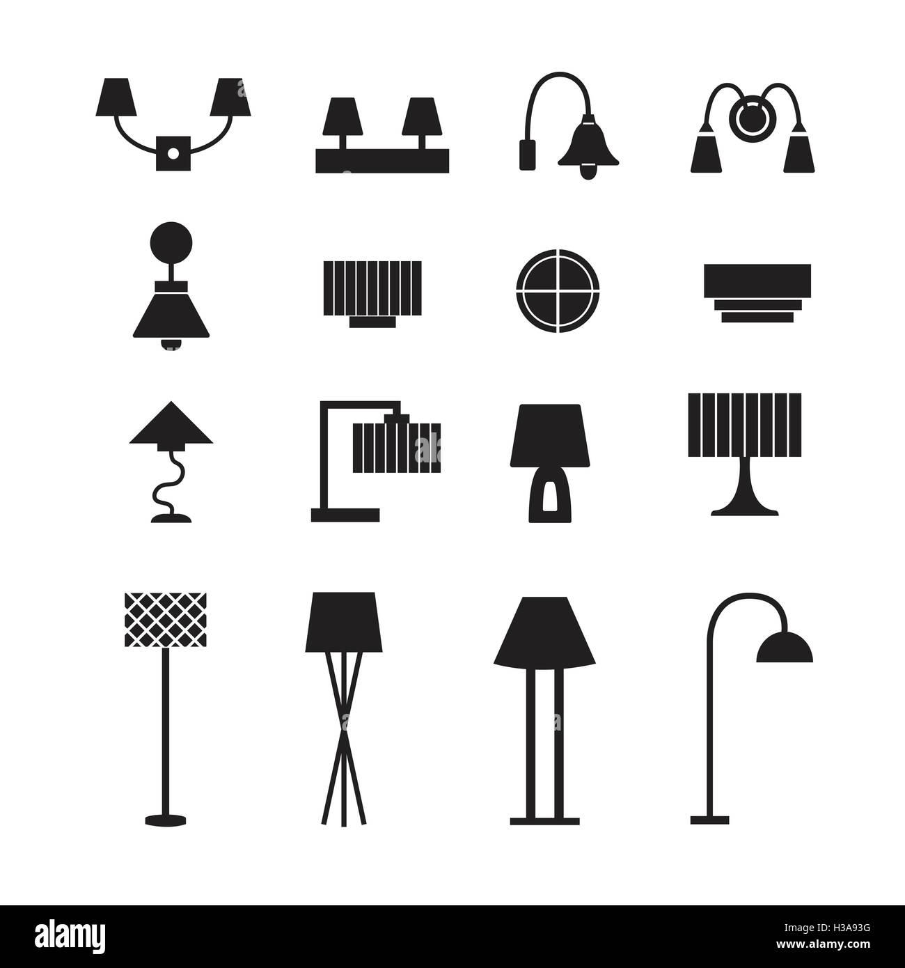 Hanging Lamp Vector: Lamp Vector, Wall Lamp, Desk Lamp, Floor Lamp, Decorate