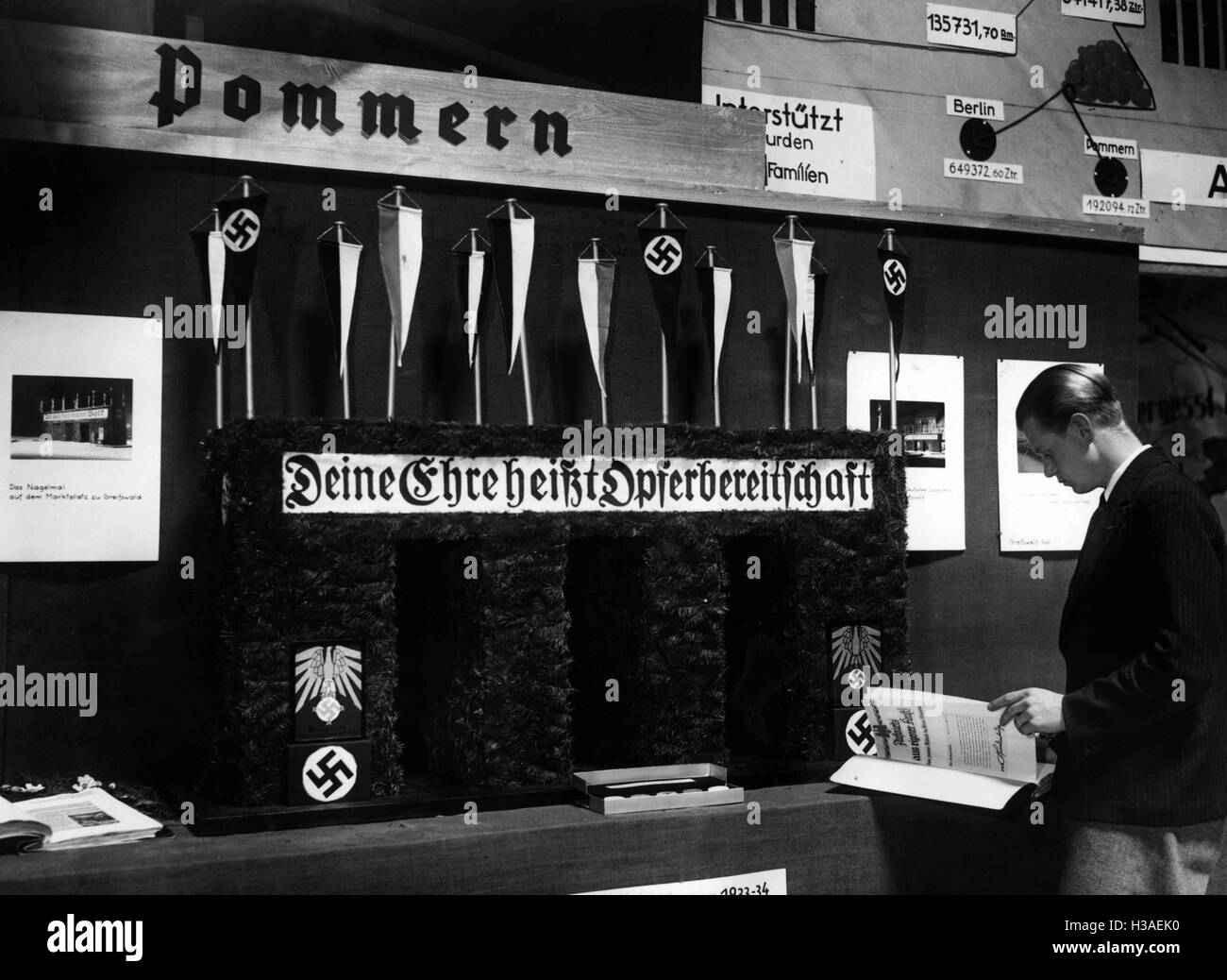WHW exhibition in Pomerania - Stock Image