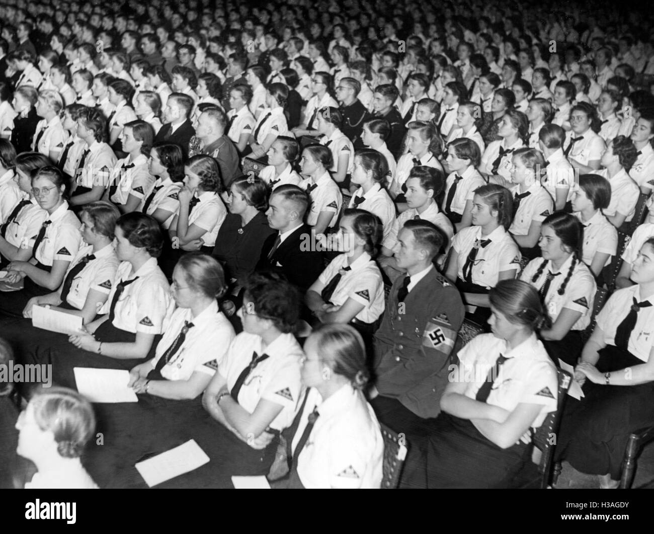 Concerts of the Youth, Berlin 1939 - Stock Image