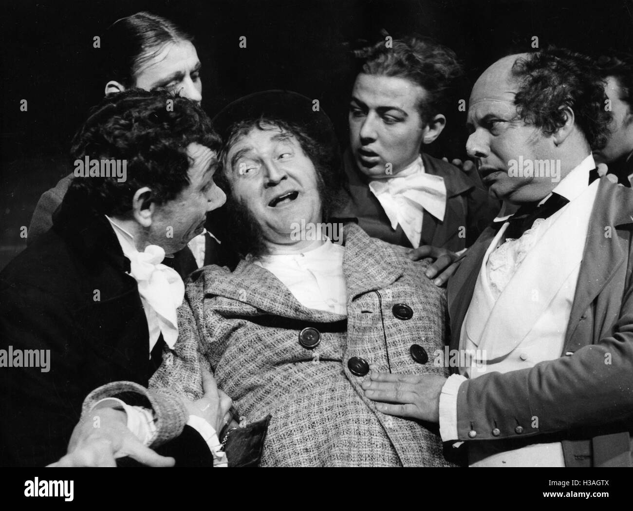 Anti-Semitic play, 1936 Stock Photo
