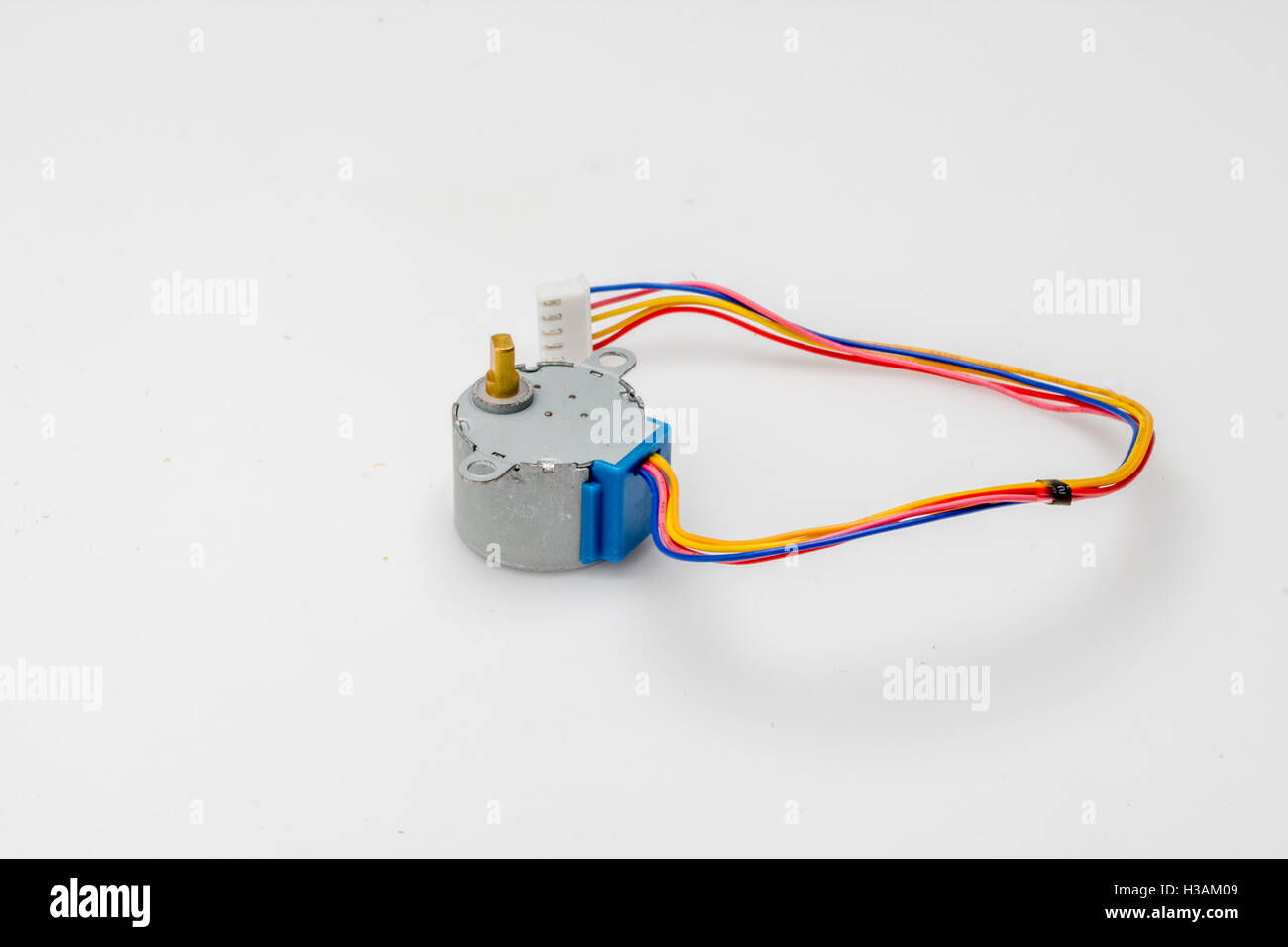 Servo Stock Photos Images Alamy Rc Wiring Diagram Operating A Normal Hobby Motor Rated At 48v To 6v From