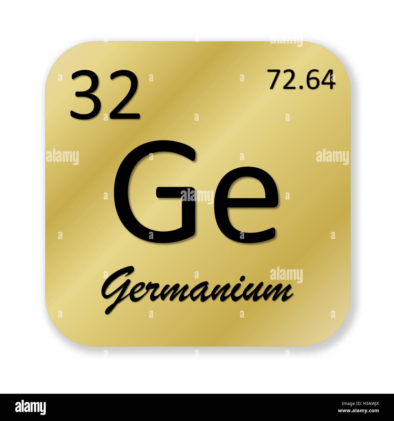 Germanium Element Stock Photo 122556194 Alamy
