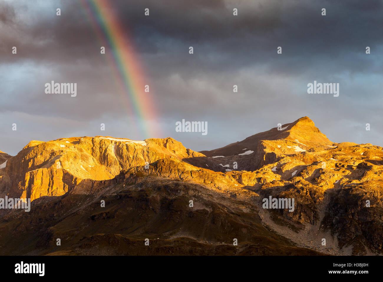 Parc National de la Vanoise. - Stock Image