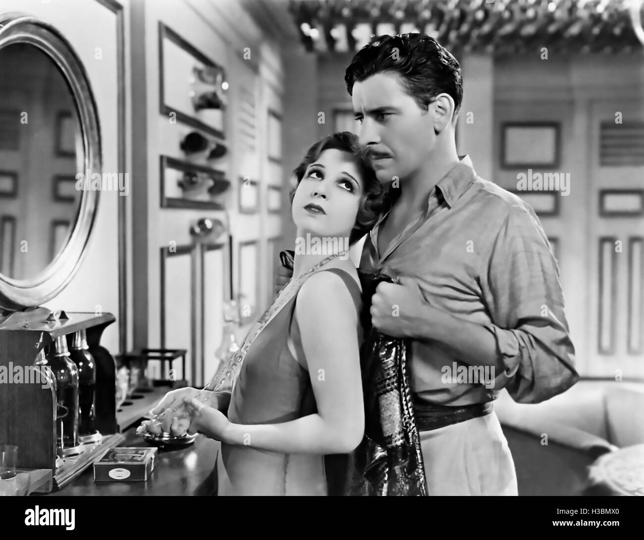 THE RESCUE 1929 United Artists film with Ronald Coleman and Lili Damita - Stock Image