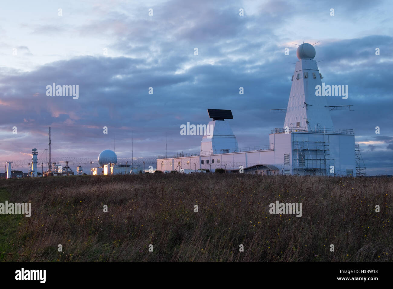 The Qinetiq site at Portsdown Technology Park in Portsmouth - Stock Image