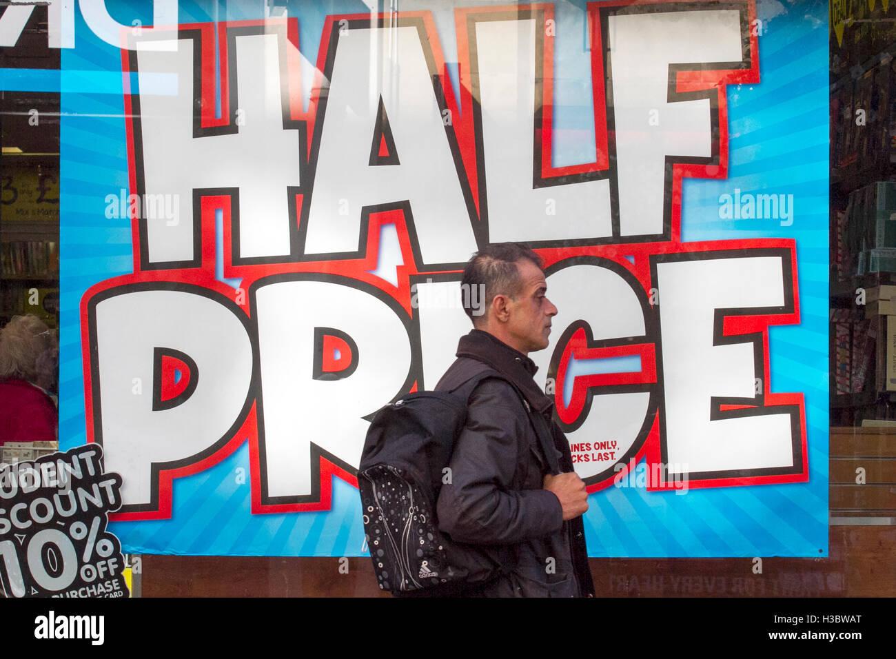 black friday sale sales shop shops discount discounts retail retailer offer offers shopper shopping reduction reduced - Stock Image