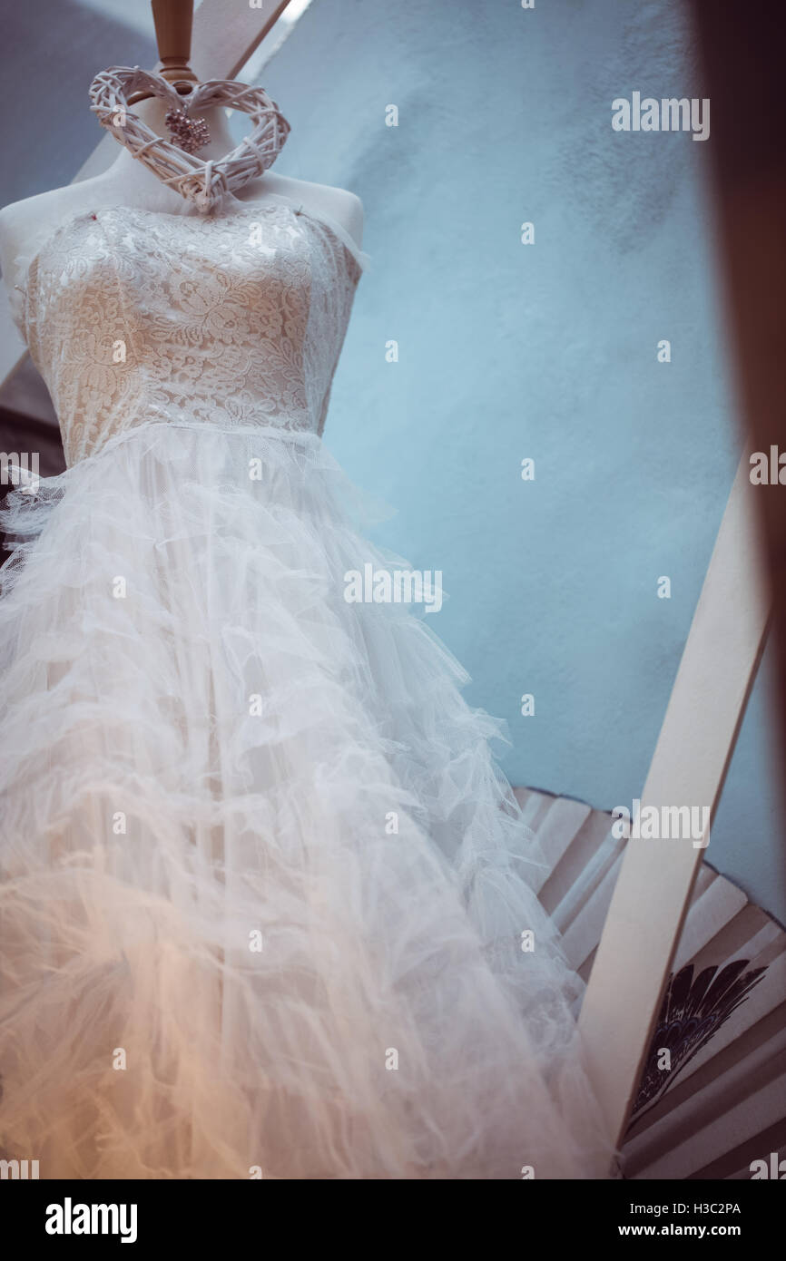 White Layered Dress Stock Photos & White Layered Dress Stock Images ...