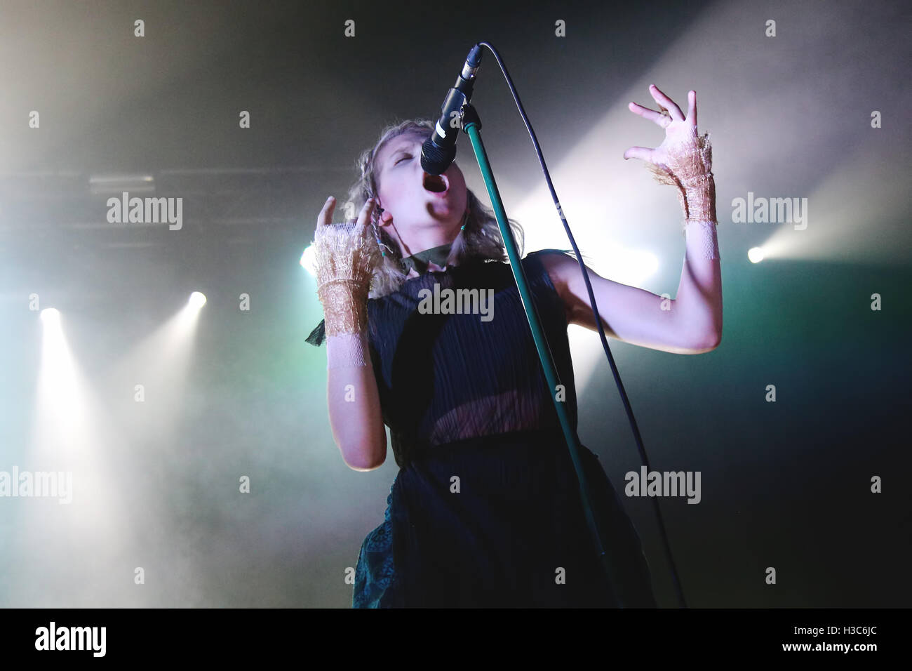 AURORA performs at Manchester's O2 Ritz. - Stock Image