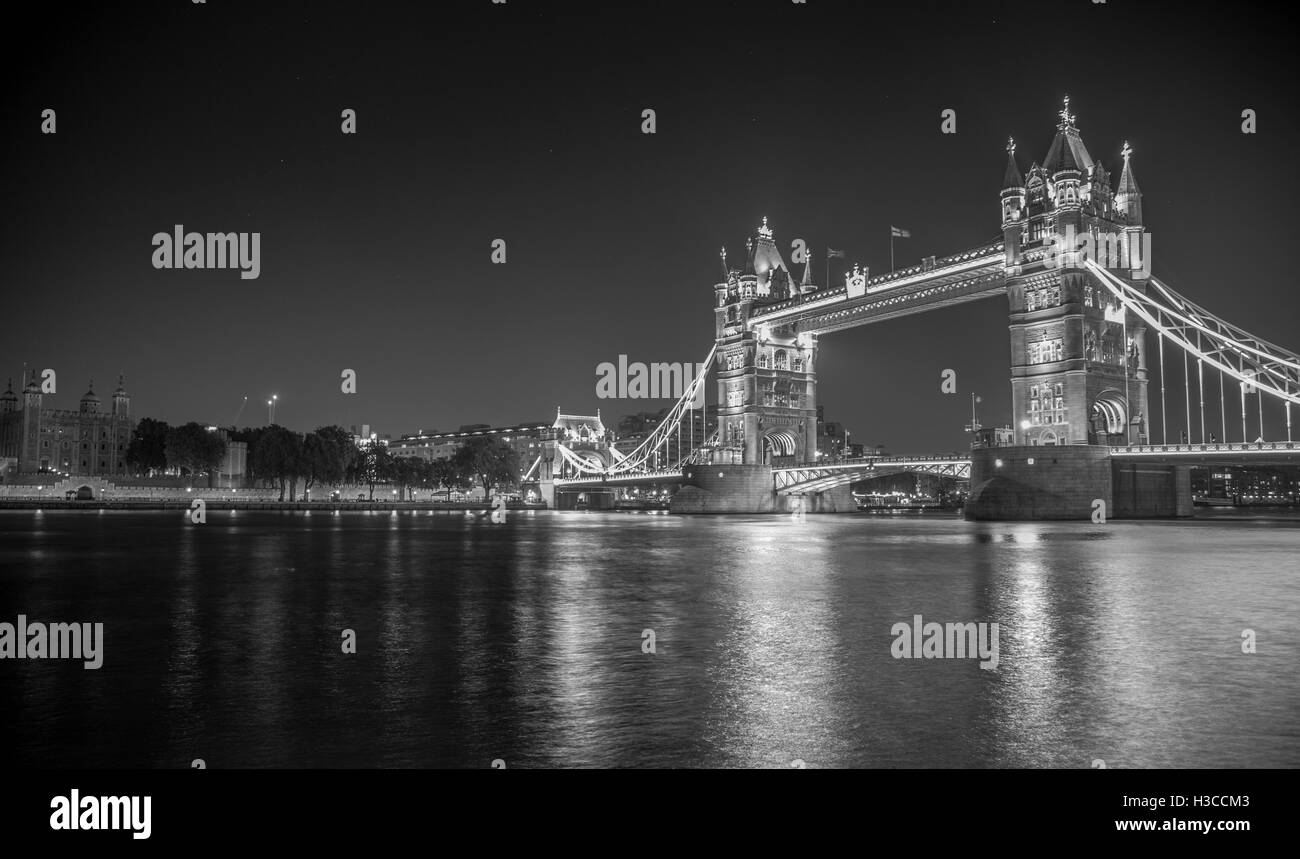 The two Towers of the Thames - Stock Image