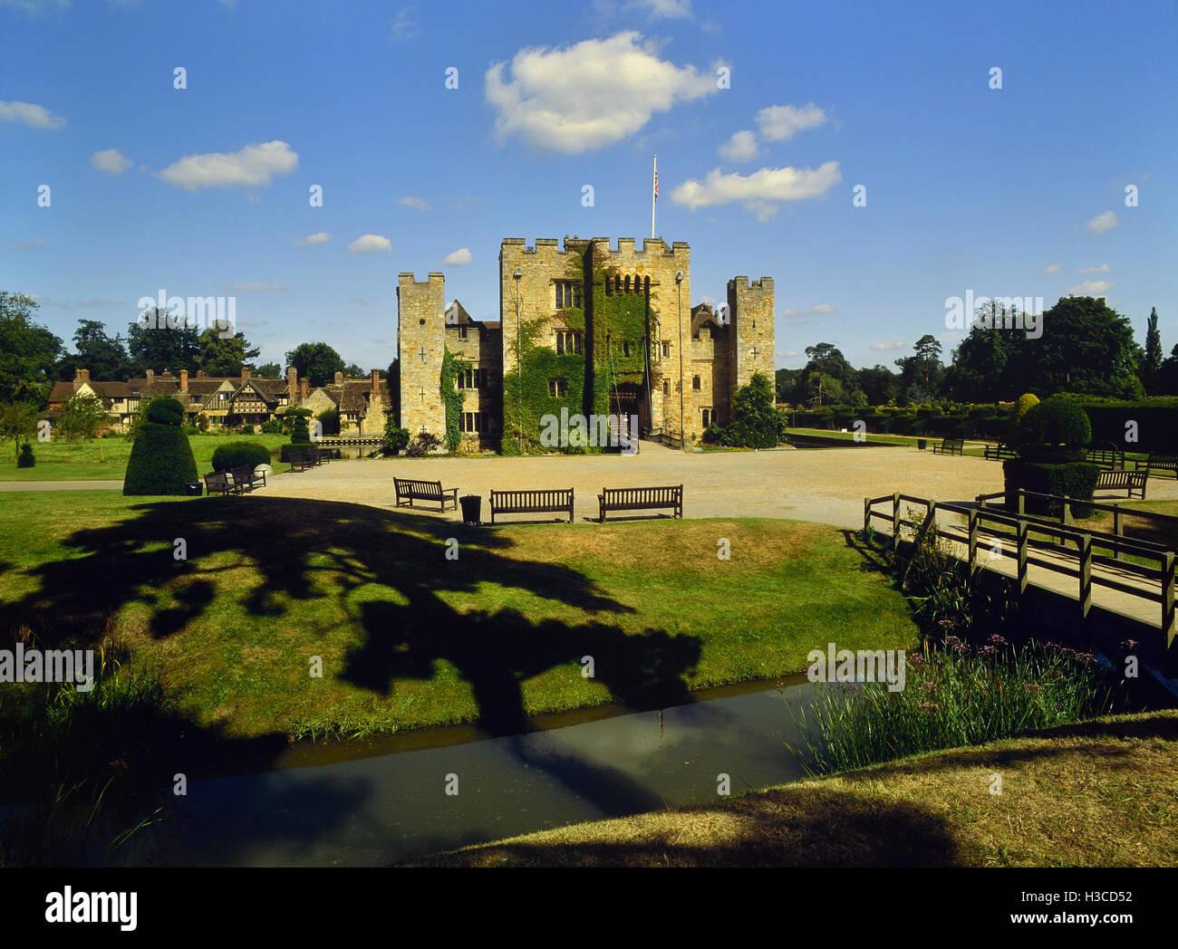 Hever Castle, Kent. England. UK - Stock Image